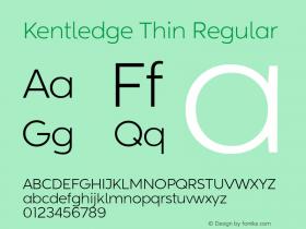 Kentledge Thin
