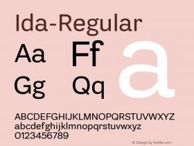 Ida-Regular