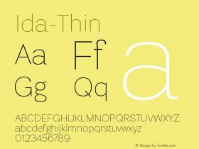 Ida-Thin