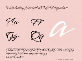 VujahdayScriptROB-Regular