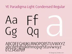 YE Paradigma Light Condensed