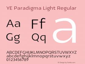 YE Paradigma Light