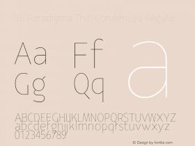 YE Paradigma Thin Condensed