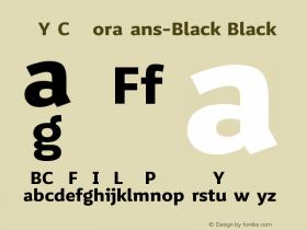 VNYGCQ+MoraSans-Black