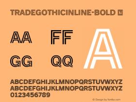 TradeGothicInline-Bold