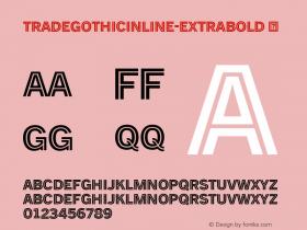 TradeGothicInline-ExtraBold