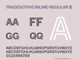 TradeGothicInline-Regular