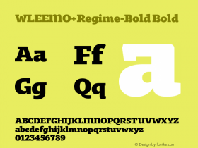 WLEEMO+Regime-Bold