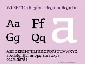 WLEEMO+Regime-Regular