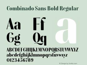Combinado Sans Bold