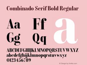 Combinado Serif Bold