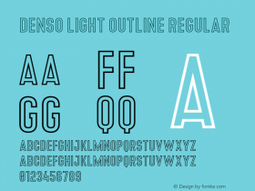 Denso Light Outline