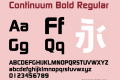 Continuum Bold