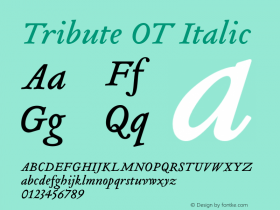 Tribute OT