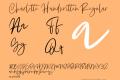 Charlotte Handwritten