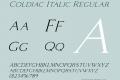 Coldiac Italic