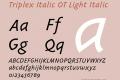 Triplex Italic OT