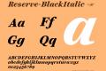Reserve-BlackItalic