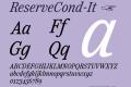 ReserveCond-It