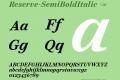 Reserve-SemiBoldItalic