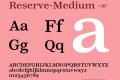 Reserve-Medium