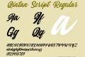 Qintan Script