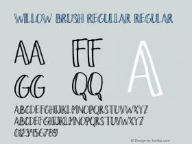 Willow Brush regullar