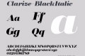 Clarize-BlackItalic