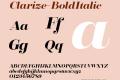 Clarize-BoldItalic
