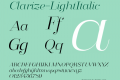 Clarize-LightItalic