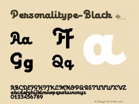 Personalitype-Black
