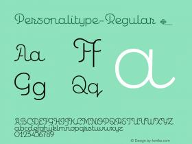 Personalitype-Regular