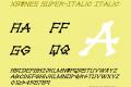 xBONES Super-Italic
