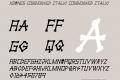 xBONES Condensed Italic