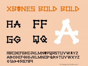 xBONES Bold
