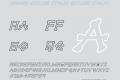 xBONES Outline Italic