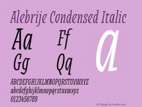 Alebrije Condensed