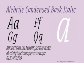 Alebrije Condensed Book