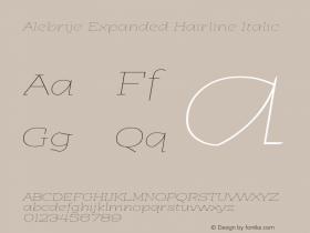 Alebrije Expanded Hairline