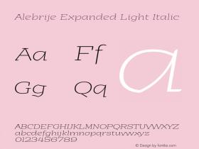 Alebrije Expanded Light
