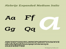 Alebrije Expanded Medium