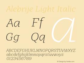 Alebrije Light
