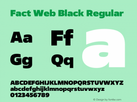 Fact Web Black