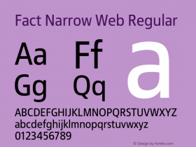 Fact Narrow Web