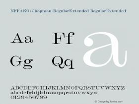 NFFAKG+Chapman-RegularExtended