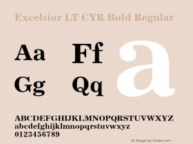 Excelsior LT CYR Bold