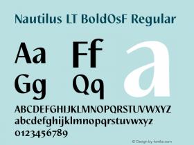Nautilus LT BoldOsF