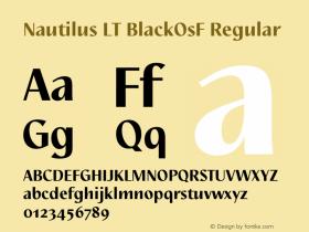 Nautilus LT BlackOsF