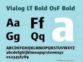 Vialog LT Bold OsF