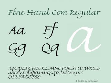 Fine Hand Com